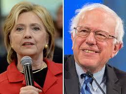 Hillary w:mike & Bernie